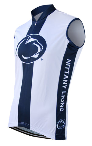 Penn State Men's Sleeveless Cycling Jersey - Collegiate Cycling Gear