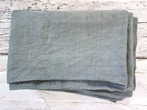Fornalutx <br> Vintage Linen & Hemp Throw