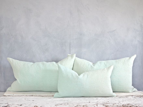 espanyolet | linen | handmade | one-of-a-kind antique vintage linen | hand painted in Mallorca, Spain | vintage | texture | color
