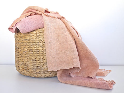 Medium Son Serra de Marina <br> Vintage Hemp Blanket