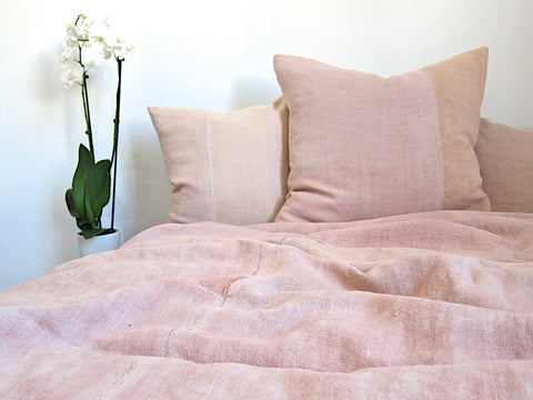 Made to Order <br> Almond Blossom Pink Bed Cover
