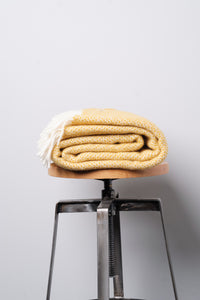 Pure New Wool Home Throw