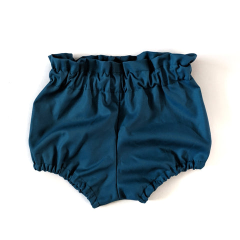 Solid Teal Bloomers