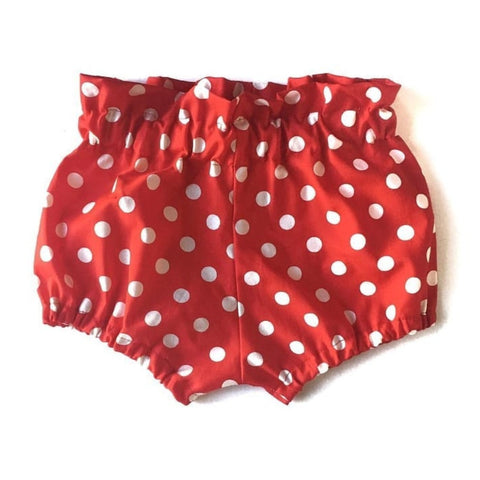 Red and White Dot Bloomers