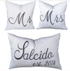 Mr. Mrs. Decorative Pillows * CUSTOMIZABLE *