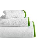 Wrap Me Up Beach Lounge Towel - MONTAGUE & CAPULET-White / Key Lime / Plain - 19