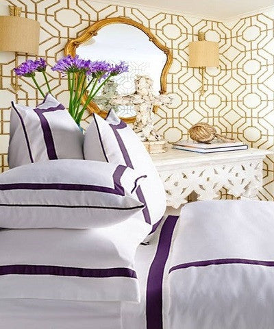 Live To Tell Collection Duvet - MONTAGUE & CAPULET-Twin / Electric Purple - 8