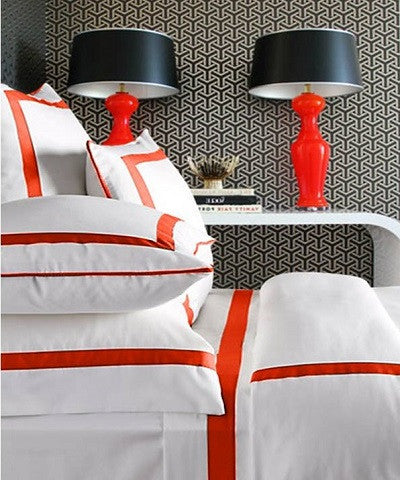 Live To Tell Collection Duvet - MONTAGUE & CAPULET-Twin / Fire Red - 2