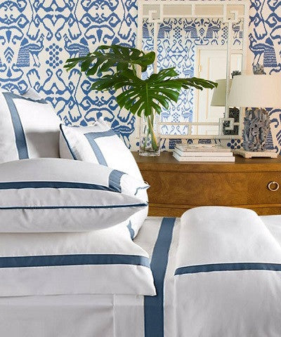 Live To Tell Collection Duvet - MONTAGUE & CAPULET-Twin / Sailor Blue - 16
