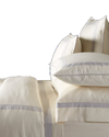 Fitted Sheet - MONTAGUE & CAPULET-Twin / White - 1