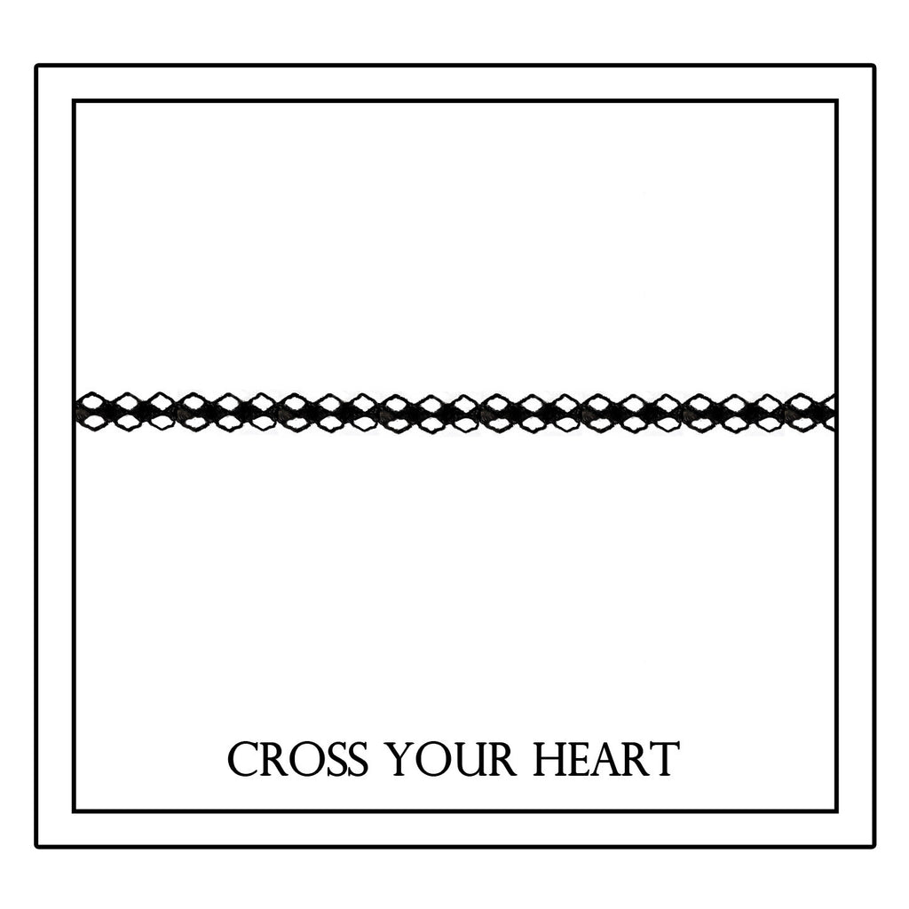 "Leave Your Mark Collection ""Cross Your Heart"" Stitch  Pillowcase"