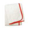 Wrap Me Up Bath Sheet - MONTAGUE & CAPULET-Ivory / Fire Red / Plain - 42
