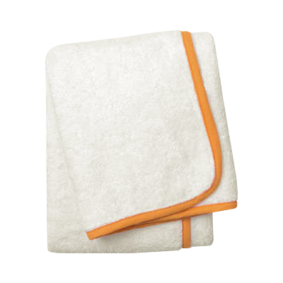 Wrap Me Up Beach Lounge Towel - MONTAGUE & CAPULET-Ivory / Mandarin / Plain - 37