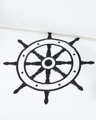 Beach Pool Nautical Ship Wheel