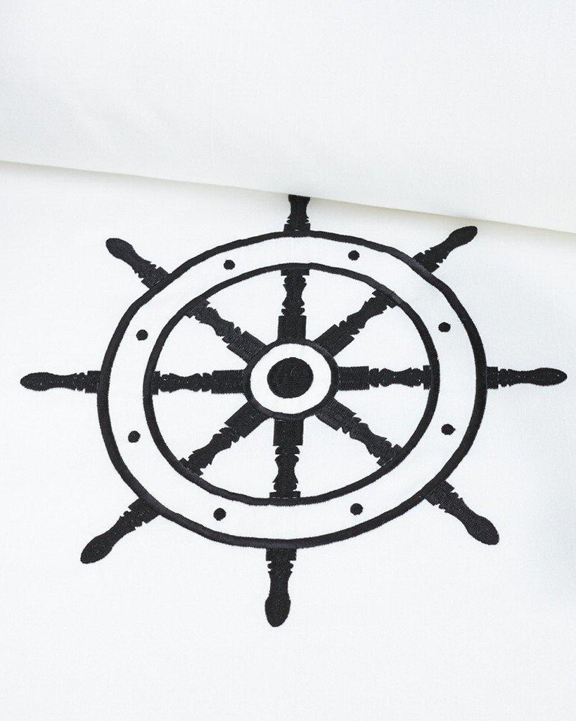 Yacht Ship Wheel Duvet