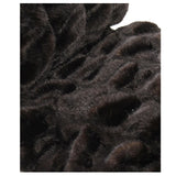 Fur Throw 'Bear Brown' - MONTAGUE & CAPULET  - 3