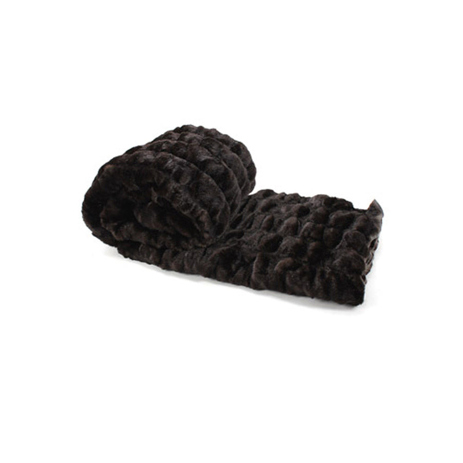 Fur Throw 'Bear Brown' - MONTAGUE & CAPULET  - 1