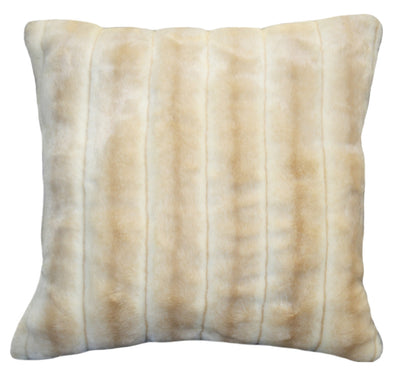 Fur Pillow 'Beaver Lioness' - MONTAGUE & CAPULET- - 1
