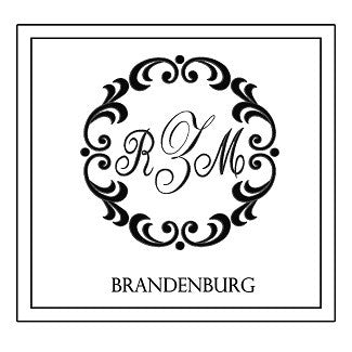Brandenburg Decorative Pillow * CUSTOMIZABLE *