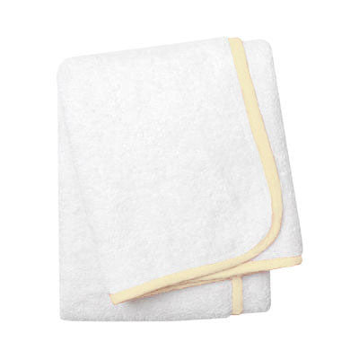 Wrap Me Up Bath Sheet - MONTAGUE & CAPULET-White / Butter / Plain - 52