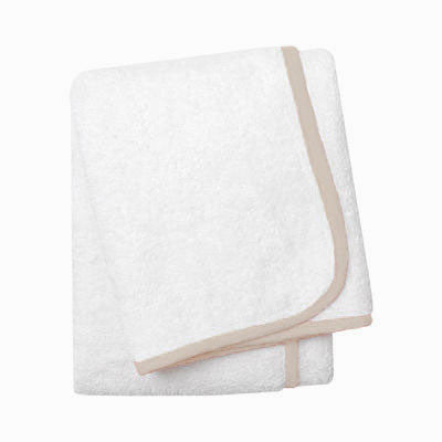 Wrap Me Up Bath Sheet - MONTAGUE & CAPULET-White / Cafe / Plain - 14