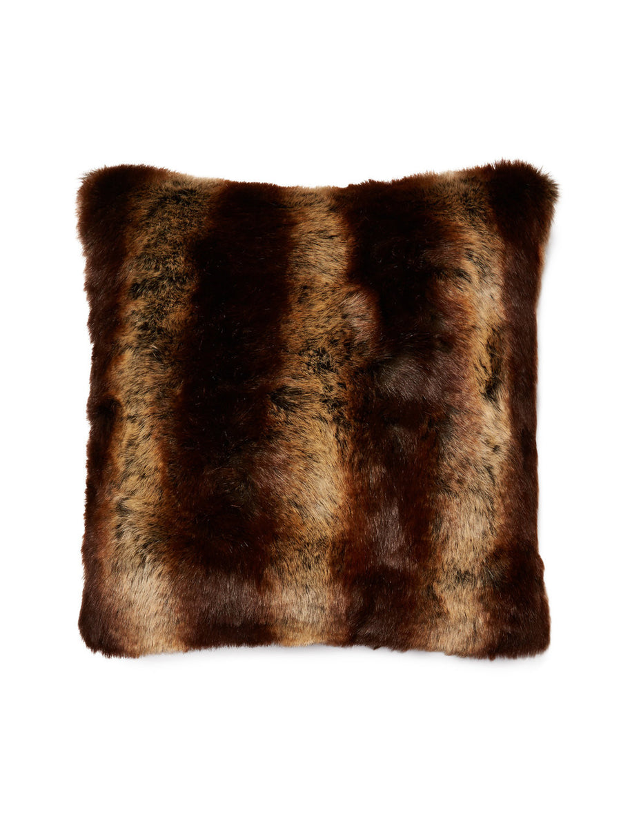 Fur Pillow 'Chinchilla' - MONTAGUE & CAPULET- - 1