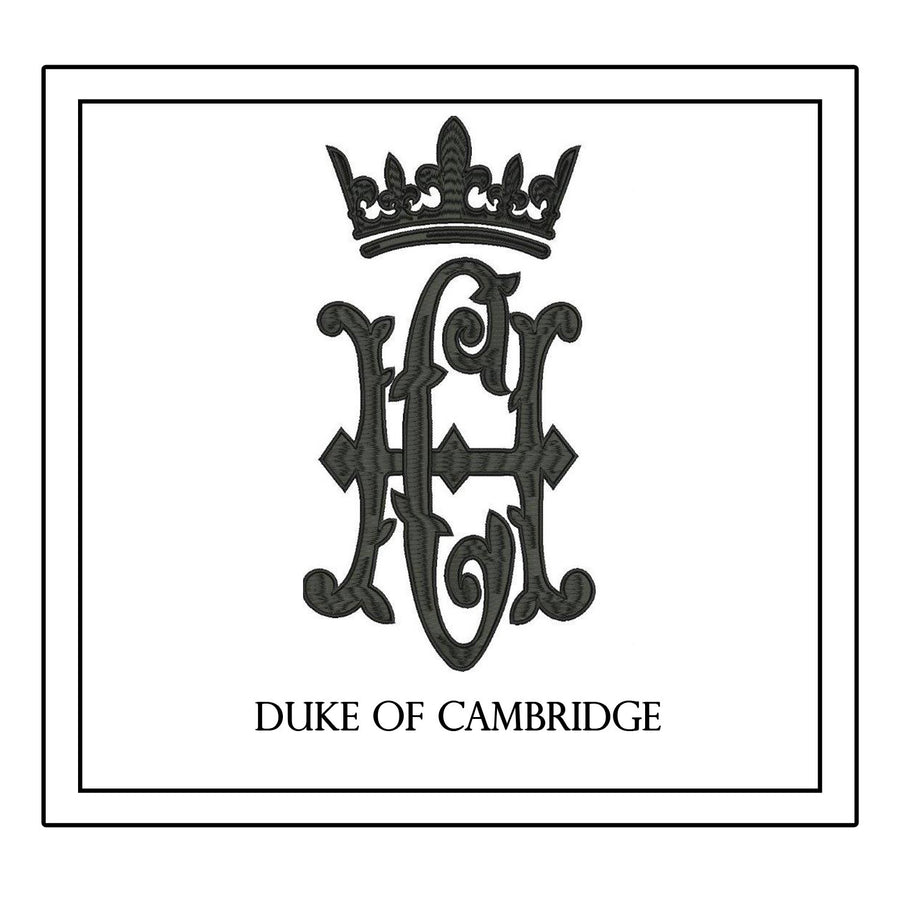 Duke of Cambridge Decorative Pillow * CUSTOMIZABLE *