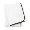 Wrap Me Up Beach Lounge Towel - MONTAGUE & CAPULET-White / Espresso / Plain - 53