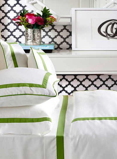 Live To Tell Collection Duvet - MONTAGUE & CAPULET-Twin / Key Lime - 7