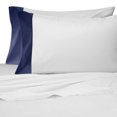 Liaison Collection Pillowcases - MONTAGUE & CAPULET-Standard Pair / Navy - 2