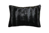 Fur Pillow 'Luxe Mink Black' - MONTAGUE & CAPULET- - 2