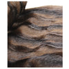 Fur Pillow 'Luxe Mink Brown' - MONTAGUE & CAPULET- - 2