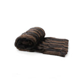 Fur Throw 'Mink Brown' - MONTAGUE & CAPULET- - 3