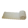 Fur Throw 'Mink Patchwork Ivory' - MONTAGUE & CAPULET- - 2
