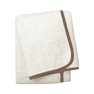 Wrap Me Up Bath Sheet - MONTAGUE & CAPULET-Ivory / Mocha / Plain - 38