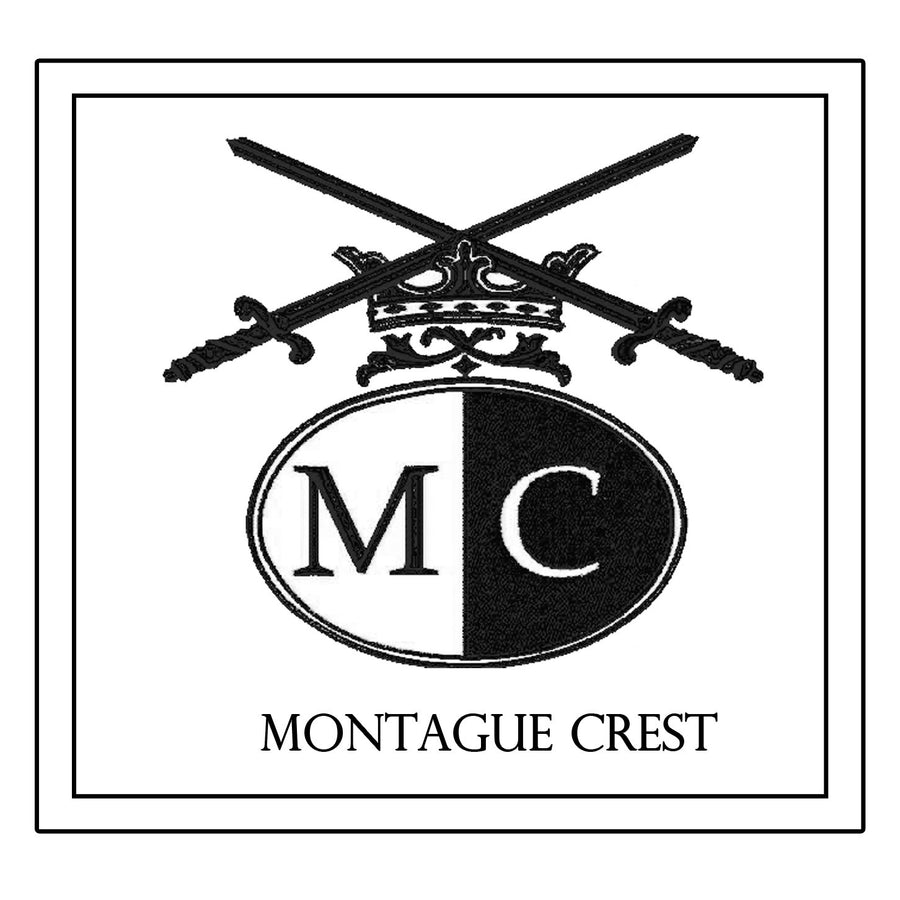 Montague Crest Decorative Pillow * CUSTOMIZABLE *
