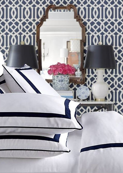 Live To Tell Collection Duvet - MONTAGUE & CAPULET-Twin / Sapphire Blue - 15