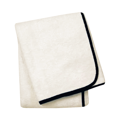 Wrap Me Up Bath Sheet - MONTAGUE & CAPULET-Ivory / Onyx / Monogram - 30