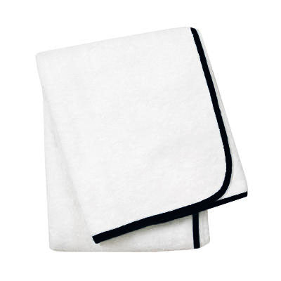 Wrap Me Up Bath Sheet - MONTAGUE & CAPULET-White / Onyx / Plain - 54