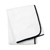 Wrap Me Up Beach Lounge Towel - MONTAGUE & CAPULET-White / Onyx / Plain - 54