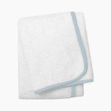 Wrap Me Up Beach Lounge Towel - MONTAGUE & CAPULET-White / Powder Blue / Plain - 55