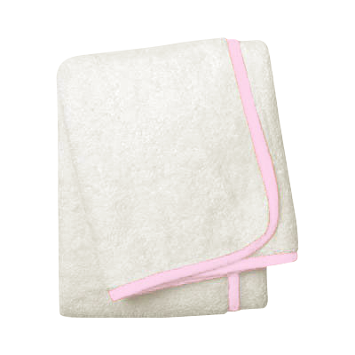 Wrap Me Up Beach Lounge Towel - MONTAGUE & CAPULET-Ivory / Princess Pink / Plain - 46