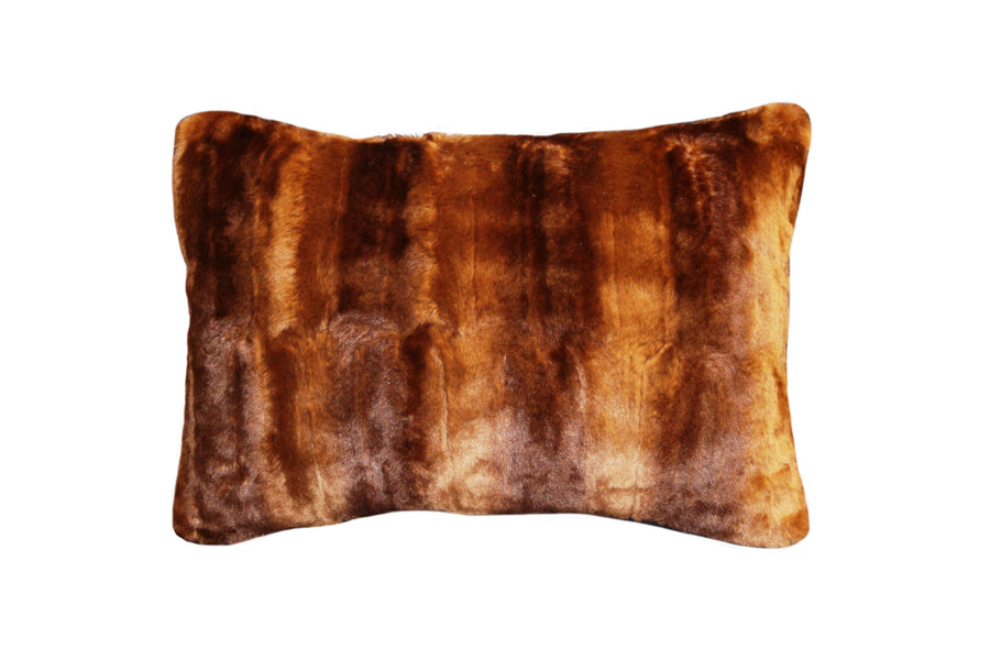 Fur Pillow 'Rabbit Toast' - MONTAGUE & CAPULET- - 1