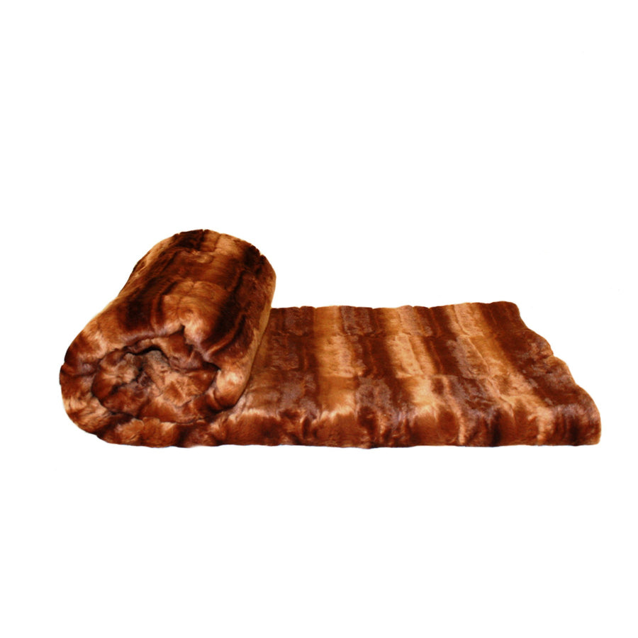 Fur Throw 'Rabbit Toast' - MONTAGUE & CAPULET- - 1
