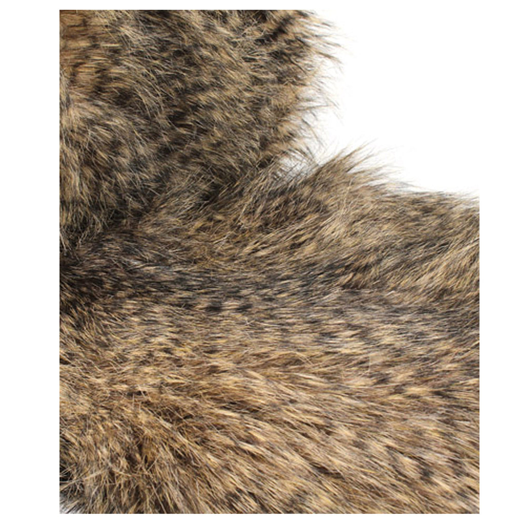 Fur Throw 'Raccoon' - MONTAGUE & CAPULET- - 3
