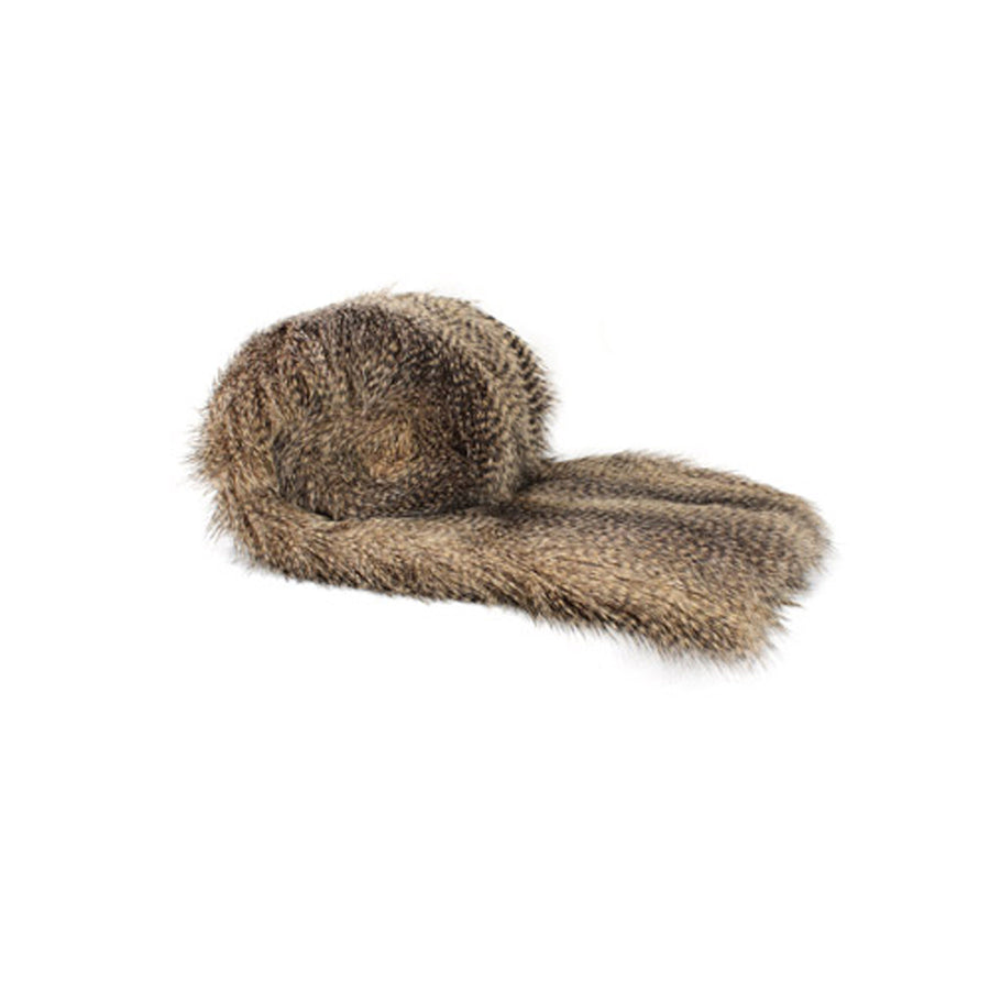 Fur Throw 'Raccoon' - MONTAGUE & CAPULET- - 1
