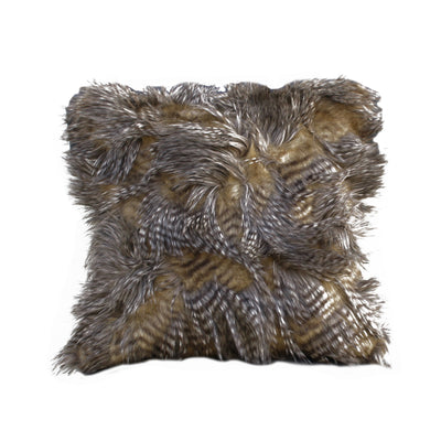 Fur Pillow 'Saber Carmello' - MONTAGUE & CAPULET- - 1