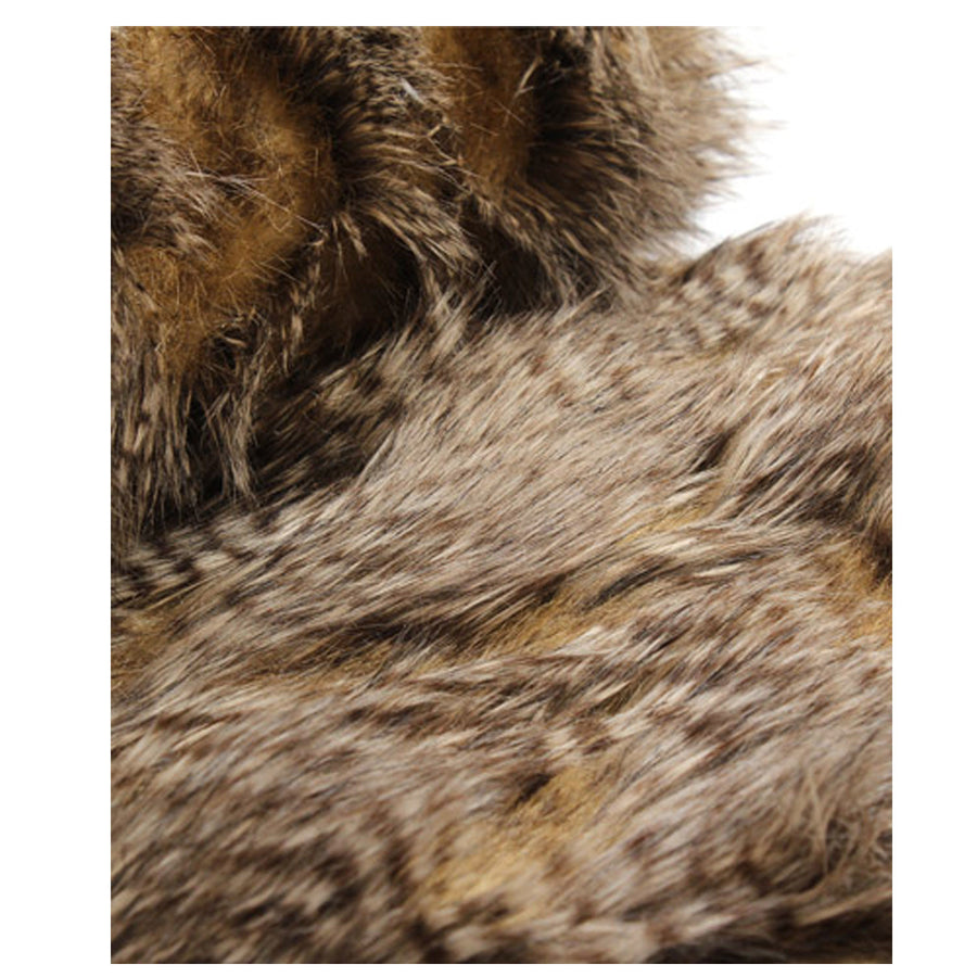 Fur Throw 'Saber Carmello' - MONTAGUE & CAPULET  - 1