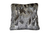 Fur Pillow 'Saber Sterling Silver' - MONTAGUE & CAPULET- - 1