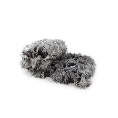 Fur Throw 'Saber Sterling' - MONTAGUE & CAPULET- - 3